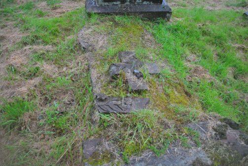 ©nme Nellie Merthe Erkenbach Stoneykirk abandoned kirkyard Graveyards of Scotland