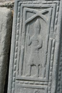 carving medieval knight