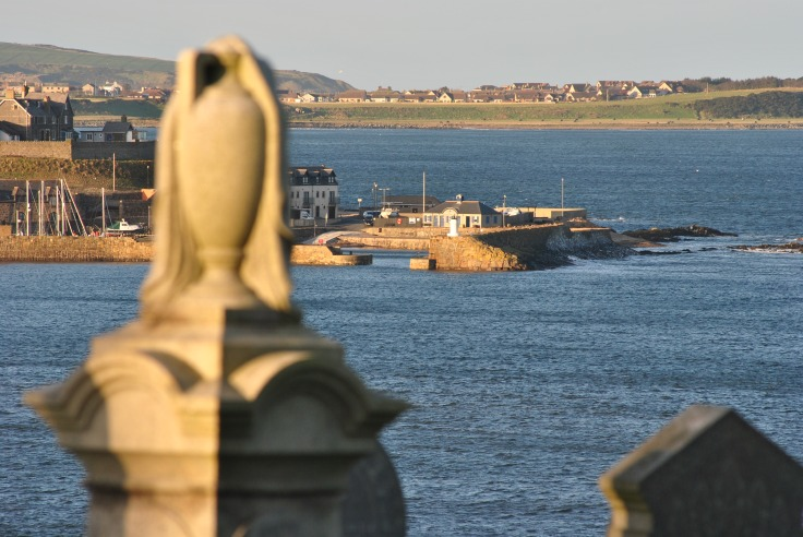 urn and Banff harbour