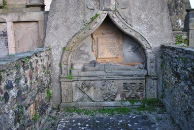 ©nme Graveyards of Scotland St Mary's Kirkyard, Banff (16)
