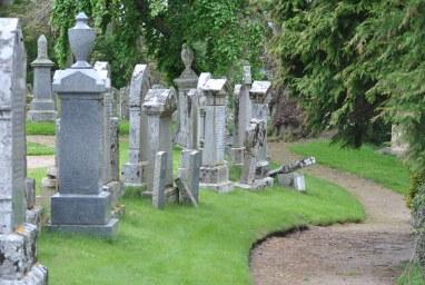Knockando by ©nme Nellie Merthe Erkenbach Graveyards of Scotland