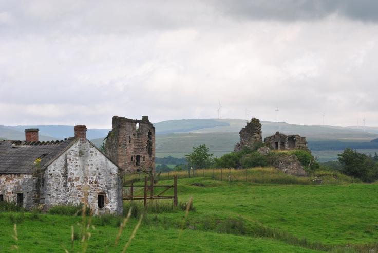 Sanquhar castle and farm