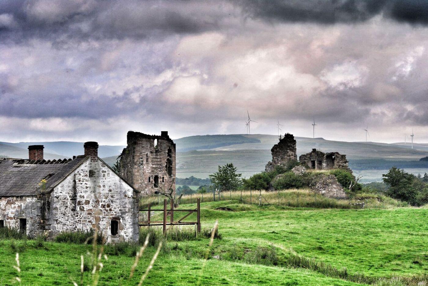castle ruin landscape