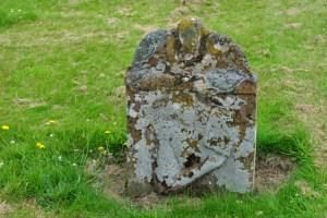 old gravestone Selkirk