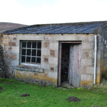 workshed next to church