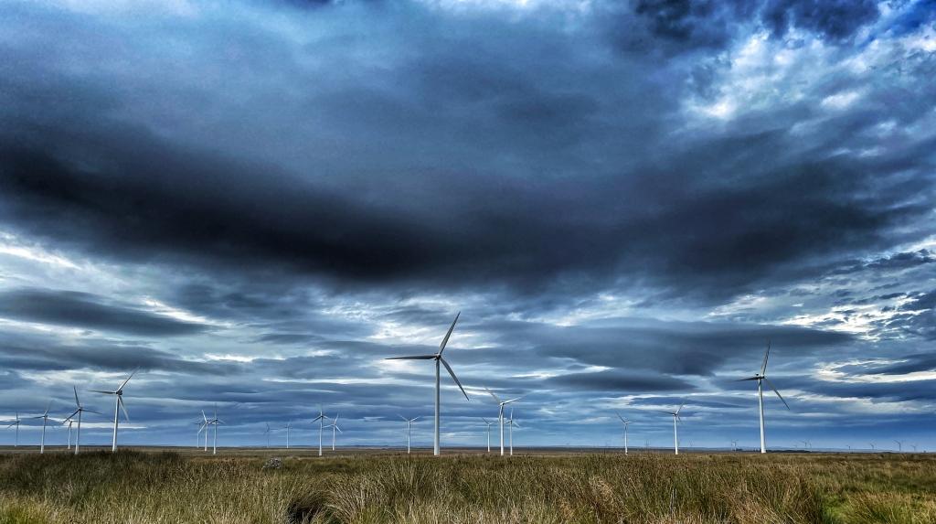 wind farm near Camster in Caithness @nme Nellie Merthe Erkenbach Graveyards of Scotland