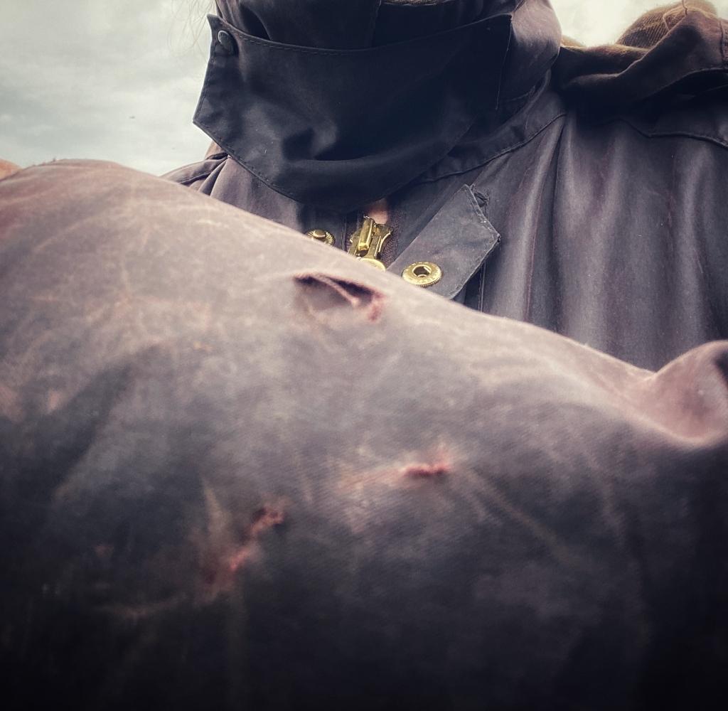 evidence of the dog attack @nme Nellie Merthe Erkenbach Graveyards of Scotland